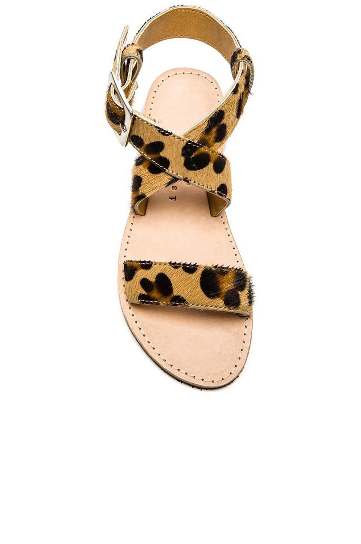 Isapera St John Faux Fur Sandals Lyst
