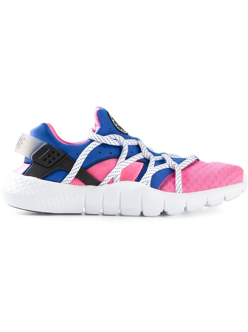 nike huarache nm sneakers in pink for men lyst. Black Bedroom Furniture Sets. Home Design Ideas