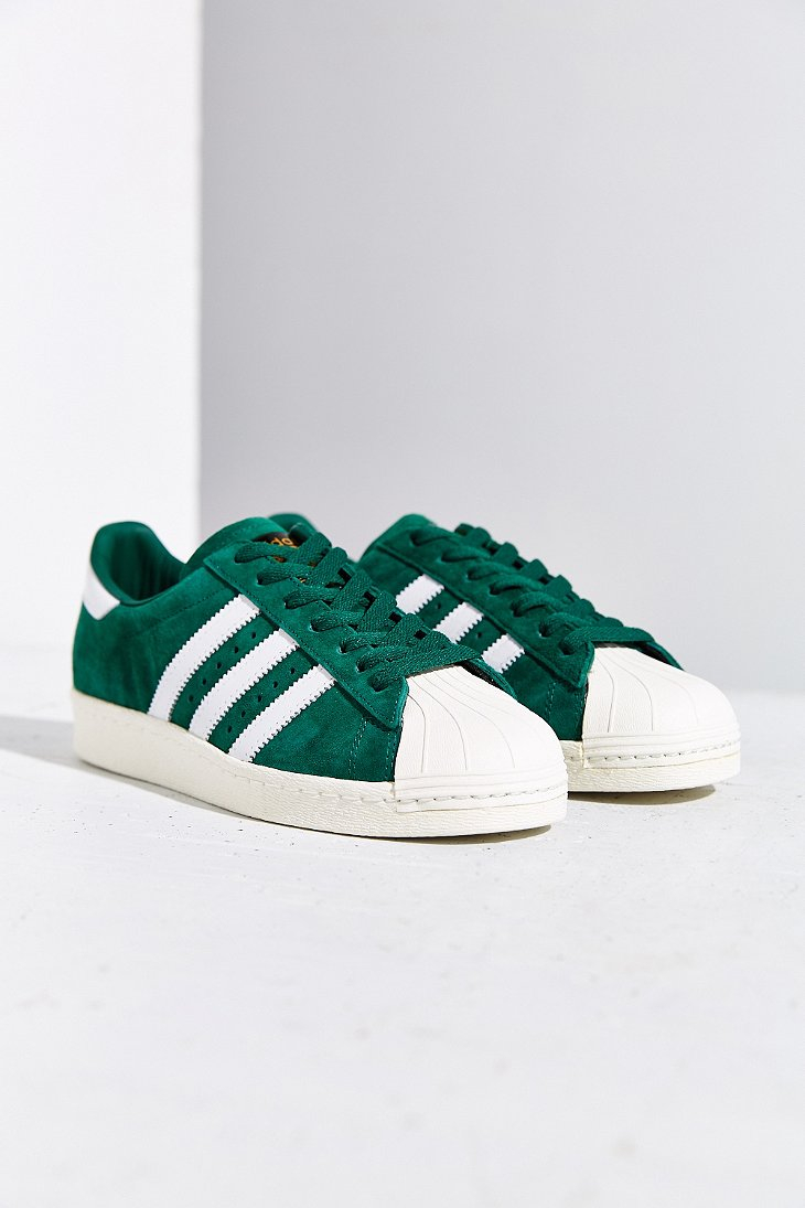 Adidas Originals Superstar 80 Deluxe zapatilla en verde Lyst