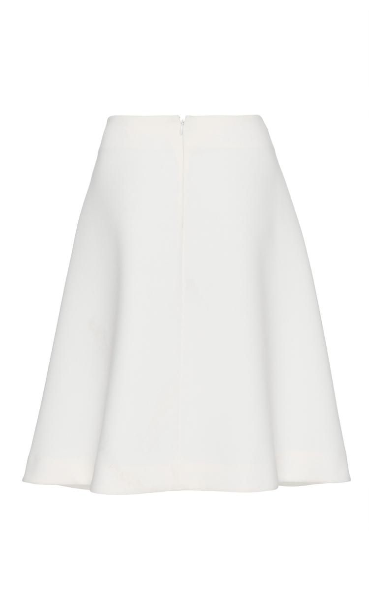co structured a line skirt in white lyst