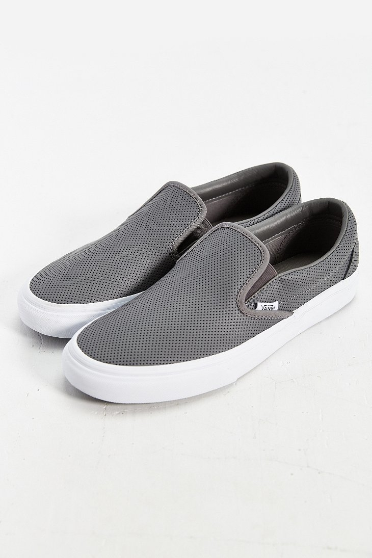variety styles of 2019 free shipping best selection of Leather Slip-on Men's Sneaker