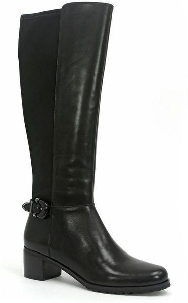 tahari boots in black lyst