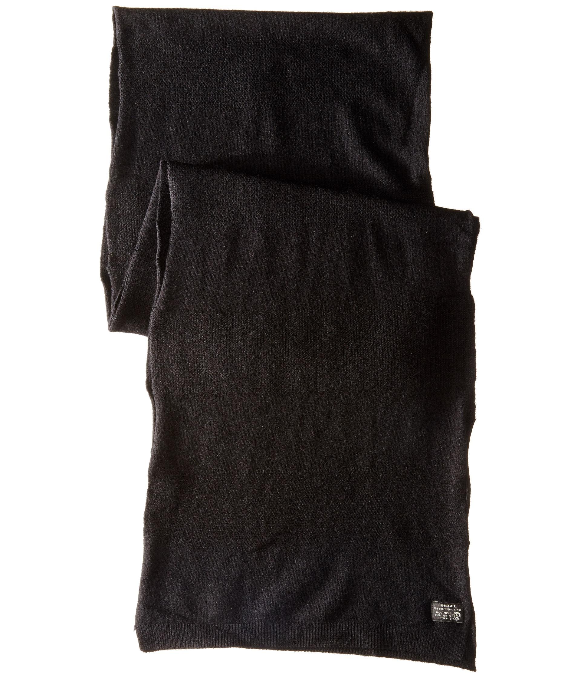 diesel 00slpr 0saen k rint scarf in black lyst