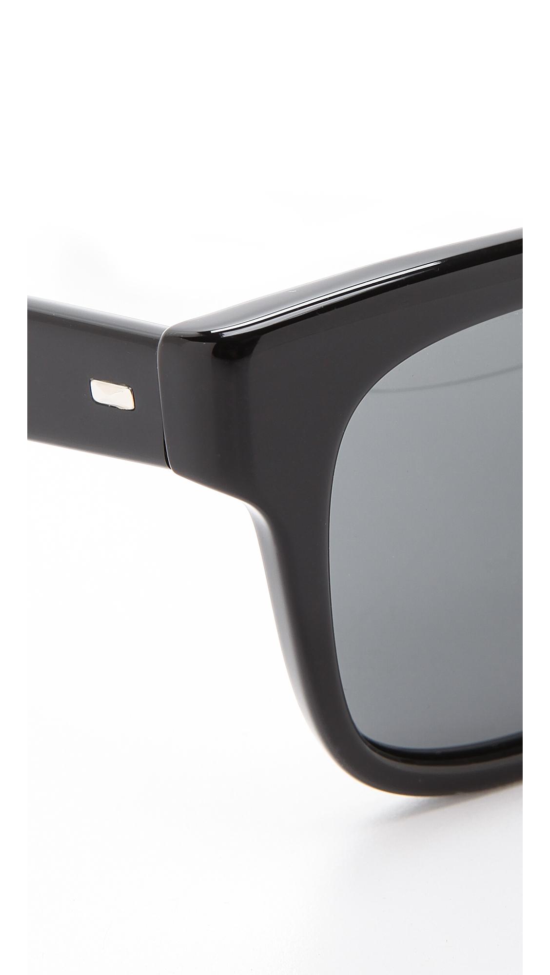 Oliver Peoples Brinley Sunglasses - Henna Gradient/Cordoba in Black/Grey (Black)