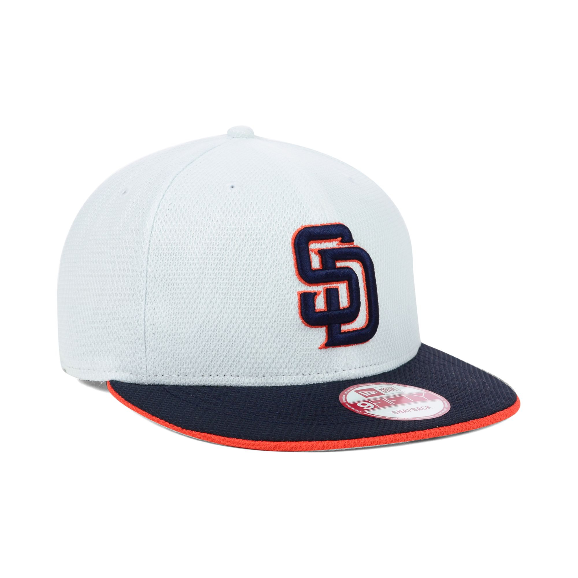 the latest 9d581 19d99 where can i buy lyst ktz san diego padres mlb white diamond era 9fifty  snapback 644c2