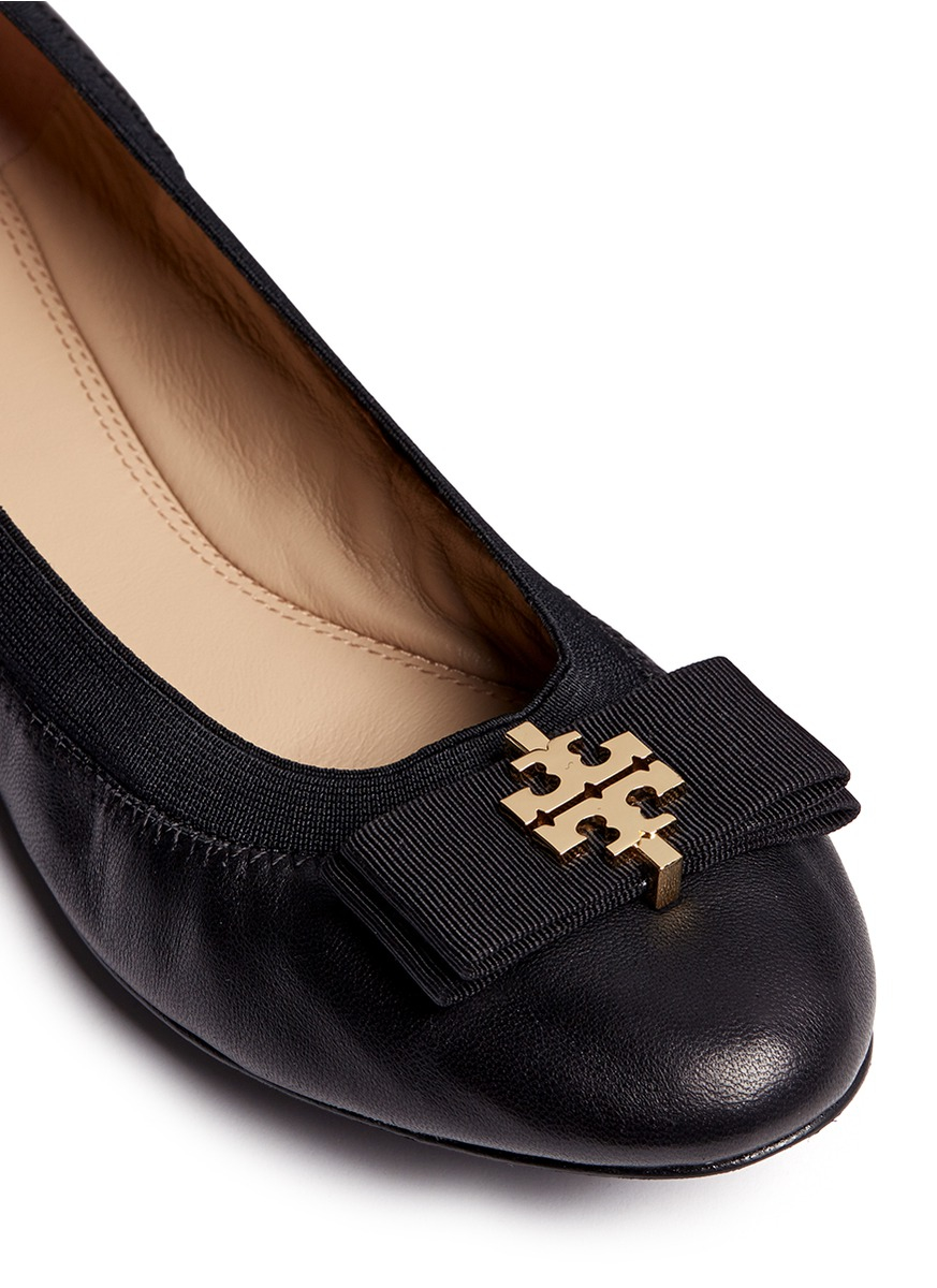 Free shipping BOTH ways on tory burch black flats, from our vast selection of styles. Fast delivery, and 24/7/ real-person service with a smile. Click or call