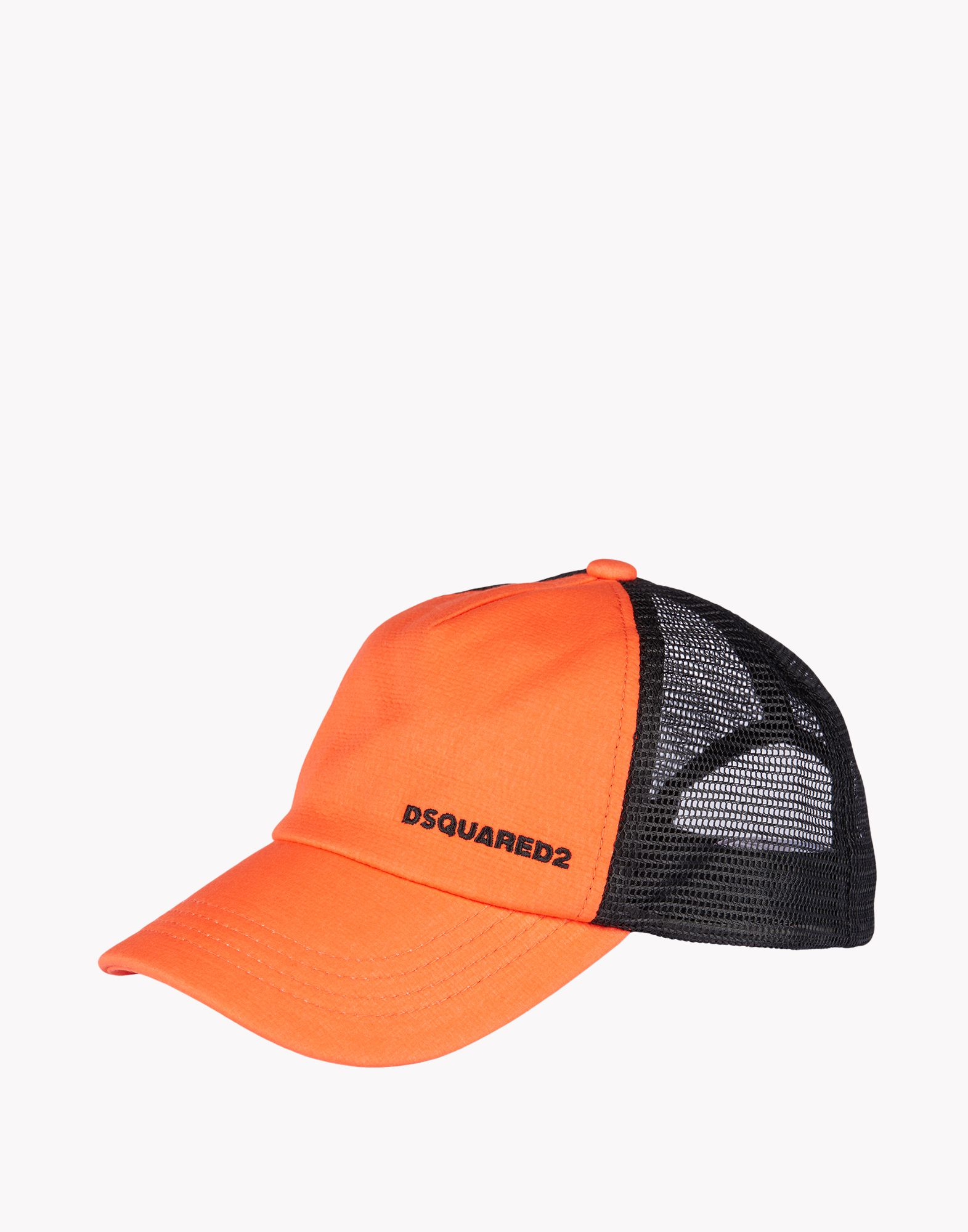 dsquared 178 baseball cap in orange for lyst