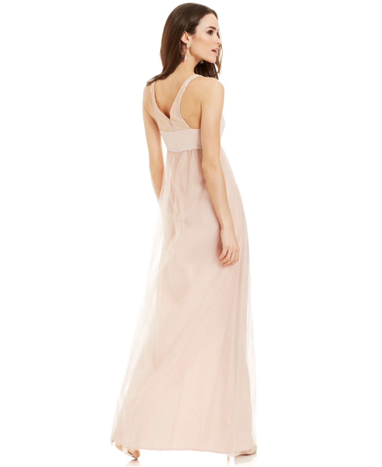 Blush Empire Waist Dresses
