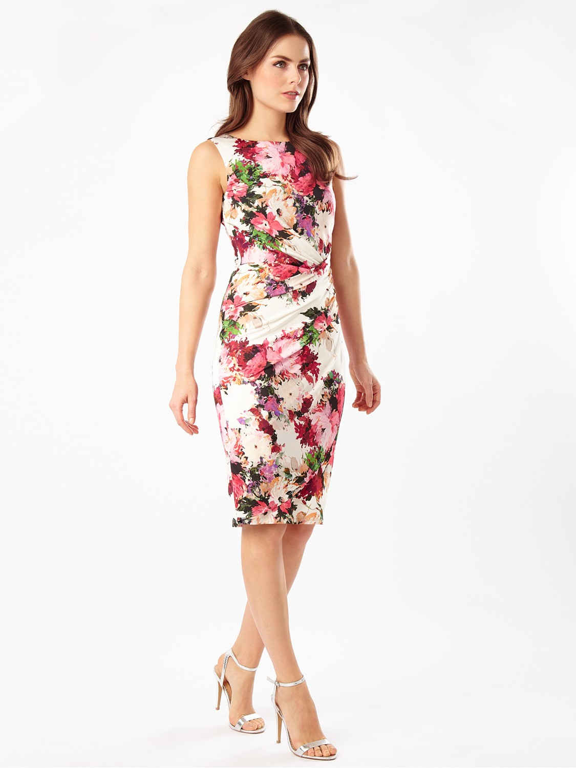 phase eight multi elisa floral print dress multicolor product 1 376943758 normal