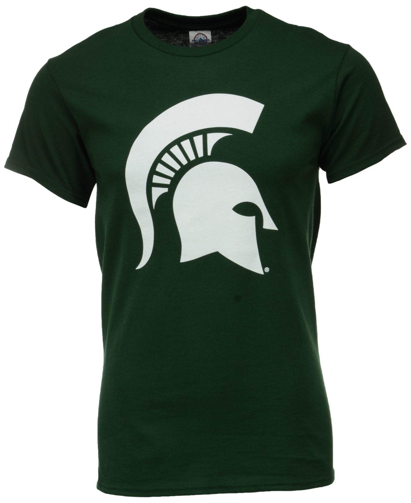 J America Men 39 S Michigan State Spartans Big Logo T Shirt