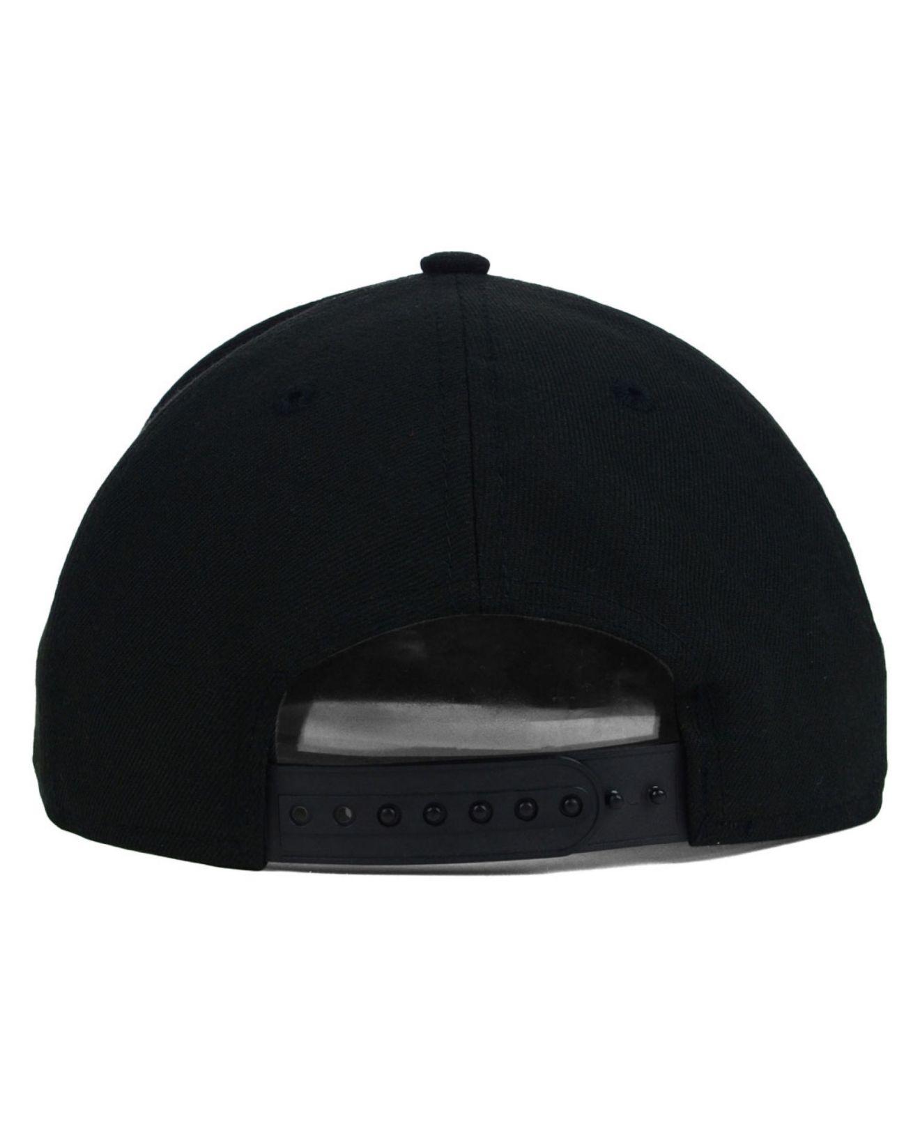 681a3b2f172 ... 50% off lyst ktz miami dolphins original fit 9fifty snapback cap in  black ab47f ecfc6