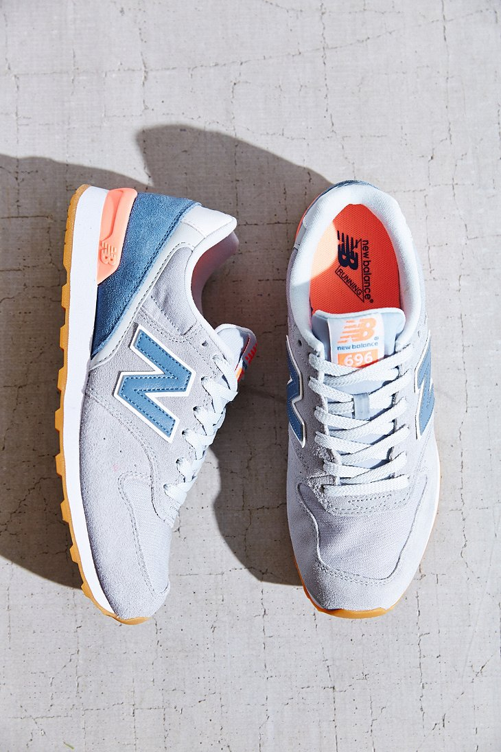 super popular 37615 5d0ac New Balance 696 Capsule Running Sneaker in Gray - Lyst