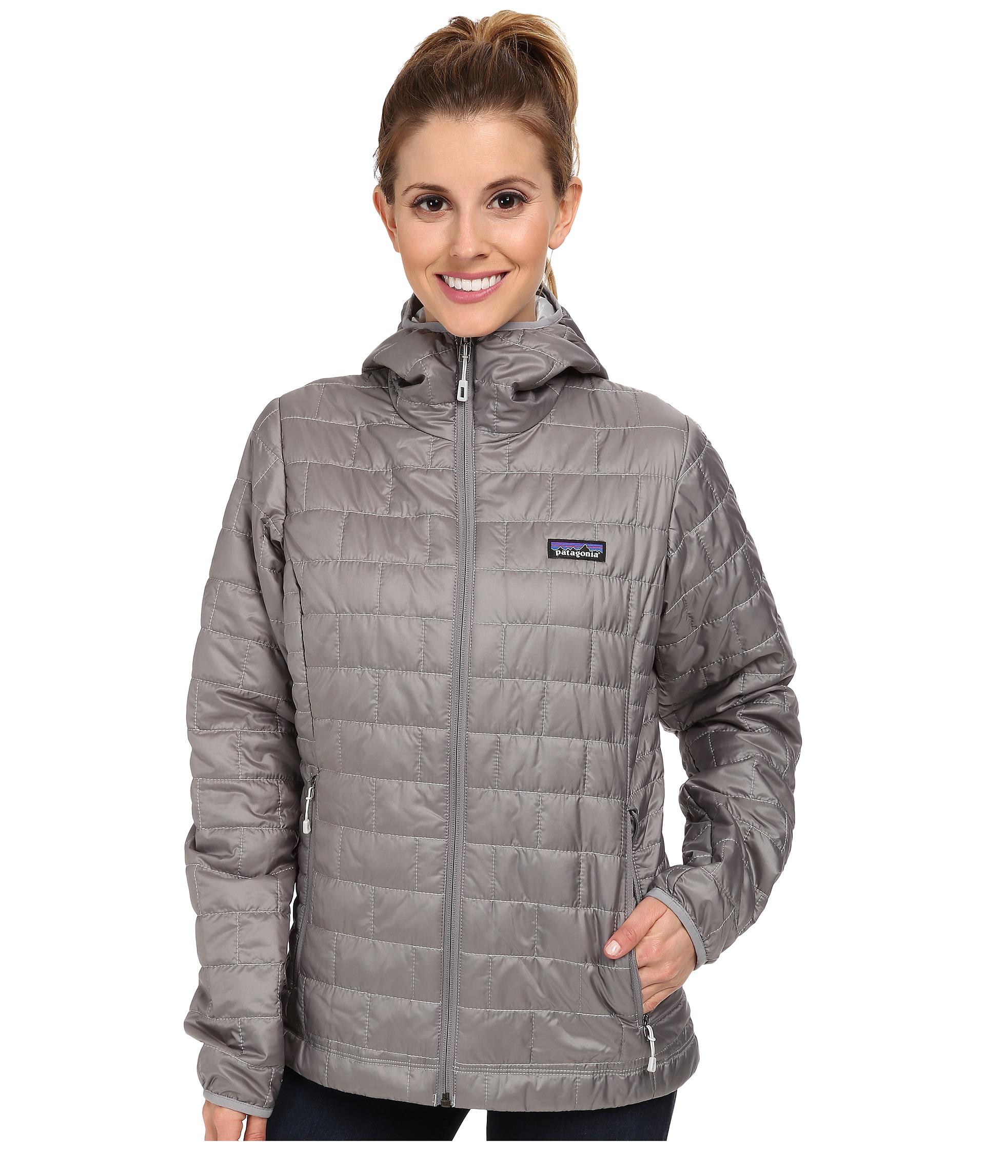 9c956be9f Women's Gray Nano Puff® Hoodie