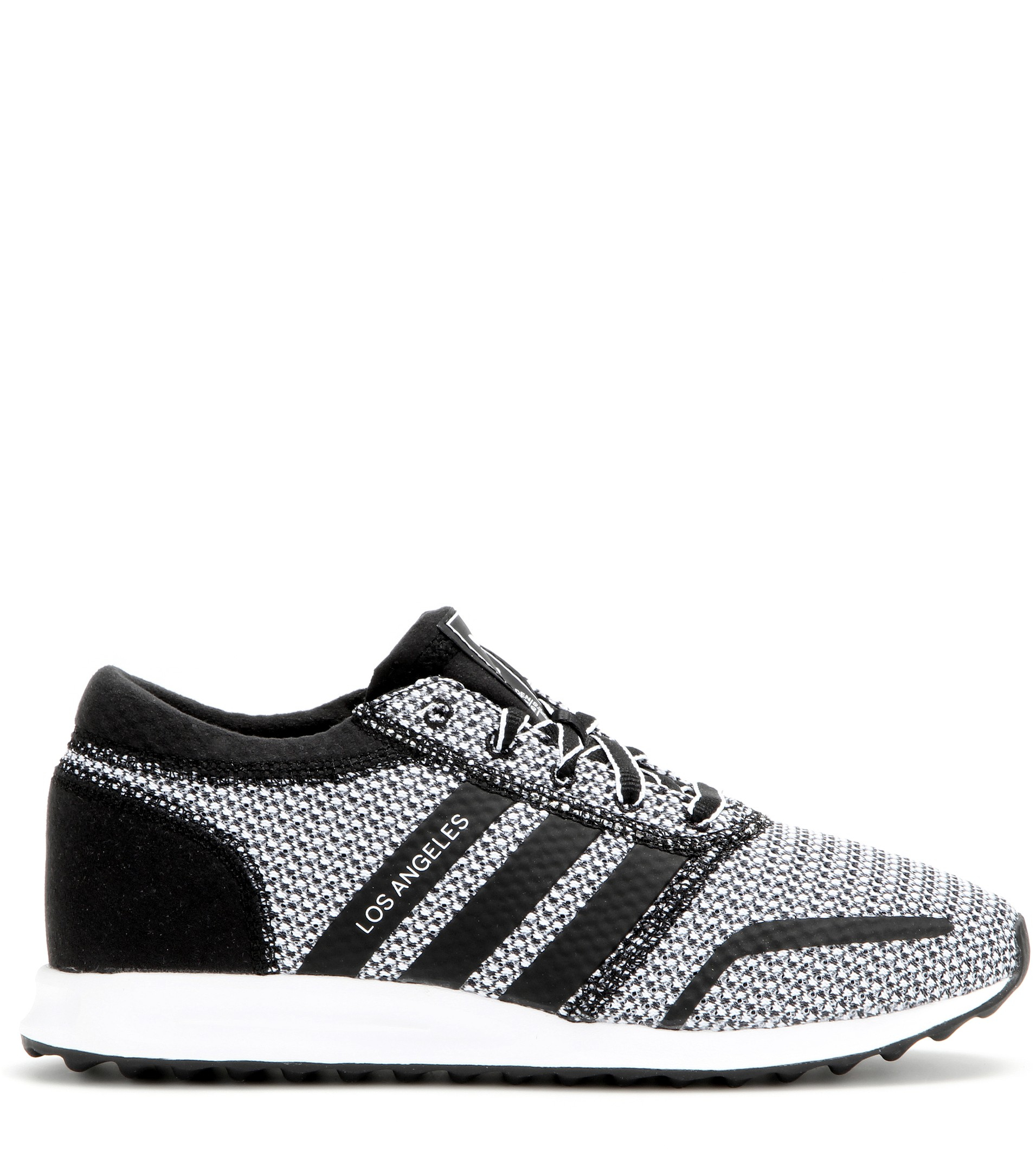 lyst adidas los angeles sneakers in gray. Black Bedroom Furniture Sets. Home Design Ideas