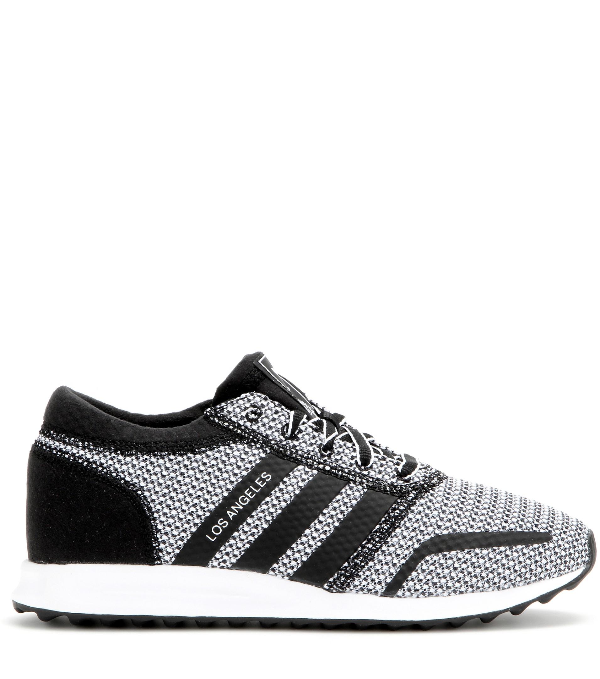Lyst - adidas Los Angeles Sneakers in Gray 9489de2b7