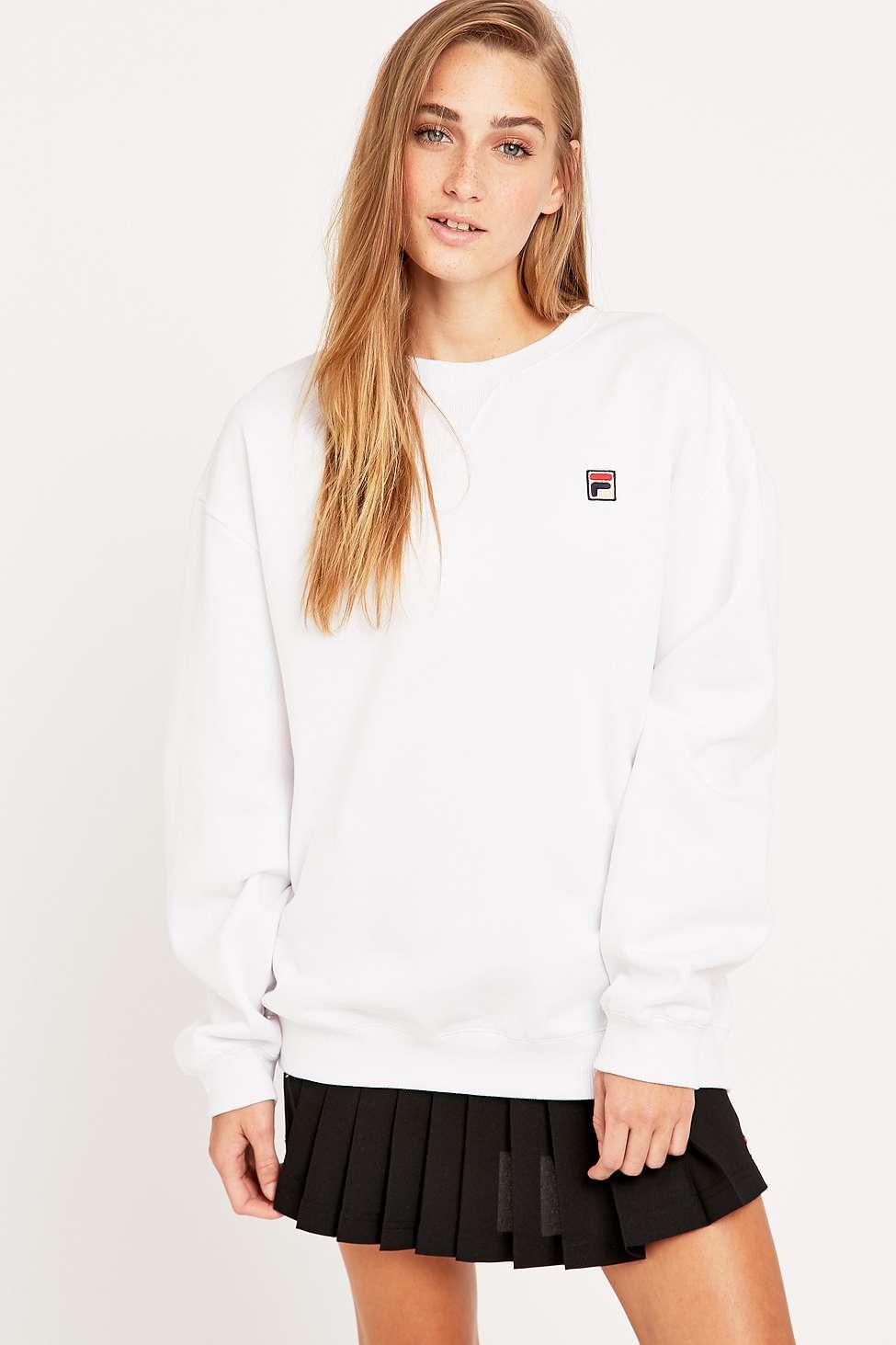 c1df99fa Fila Cassio White Sweatshirt - Lyst