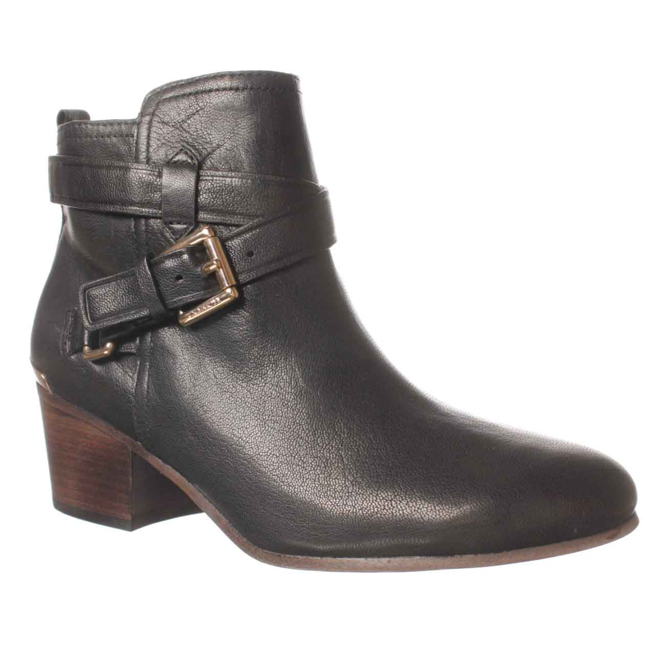 coach pauline ankle boot in black lyst