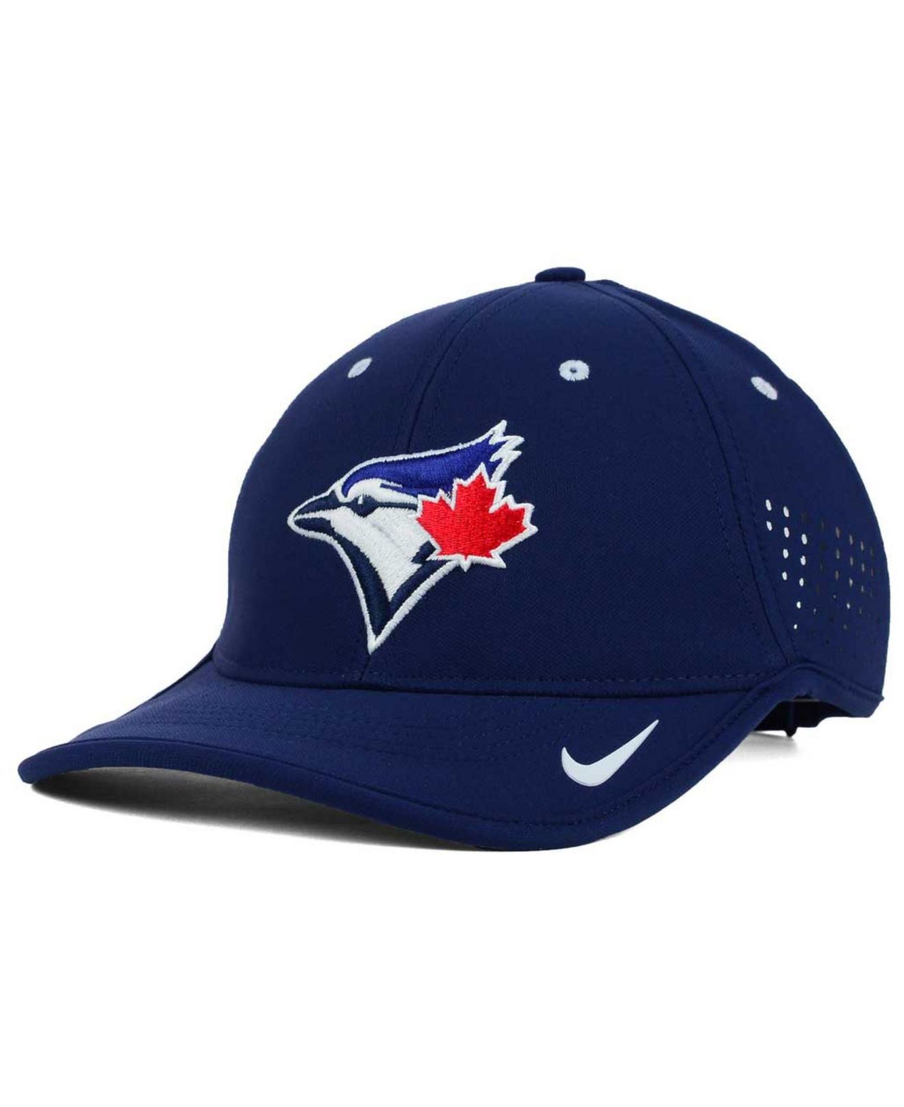 af76204f025 Lyst - Nike Toronto Blue Jays Vapor Swoosh Adjustable Cap in Red for Men