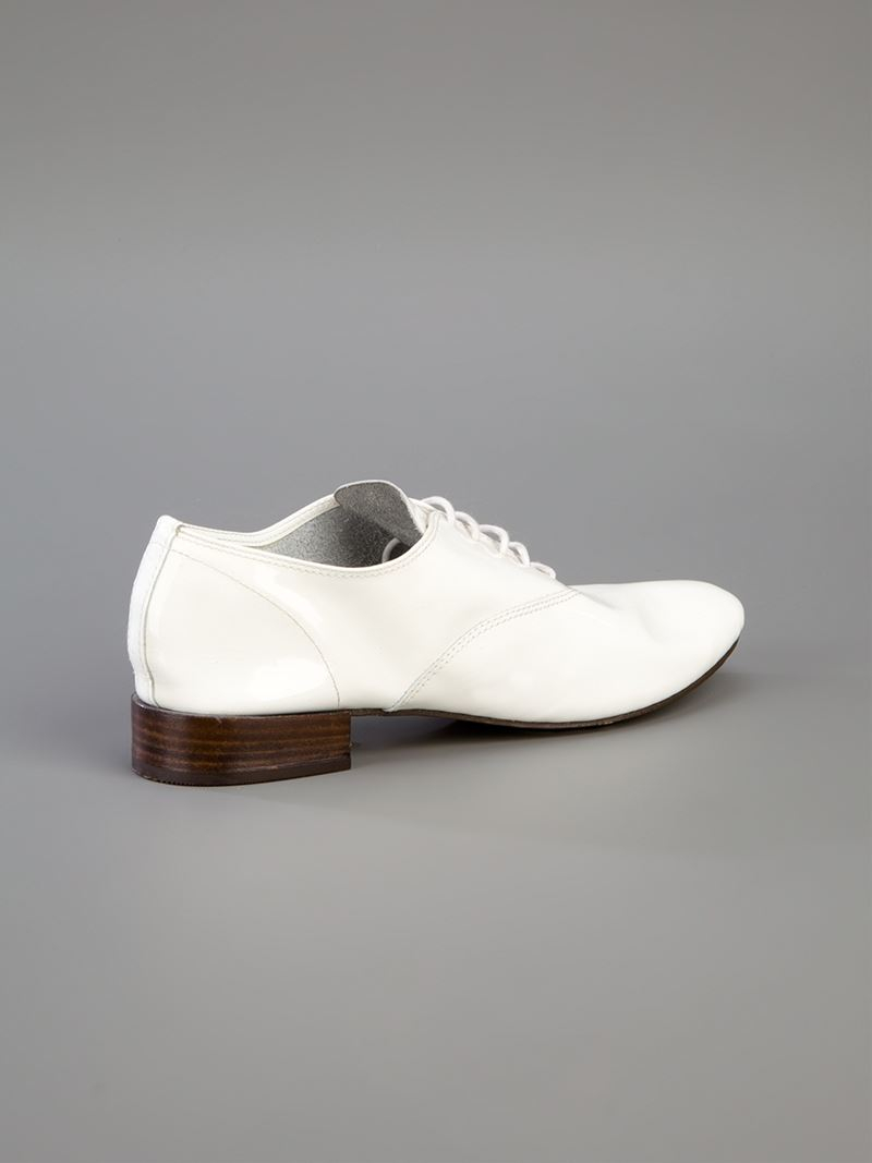 Repetto Lace Up Shoes In White Lyst