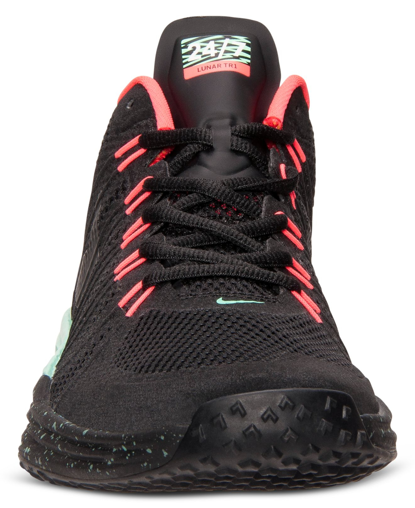 new style ff435 262dc ... Black Green Shoes Glow FMQUX03789 Shop For The Best Mens Nike Lunar TR1  NRG Running Shoes Special Sales Lyst - Nike Men S Lunar Tr1 Nrg Training ...