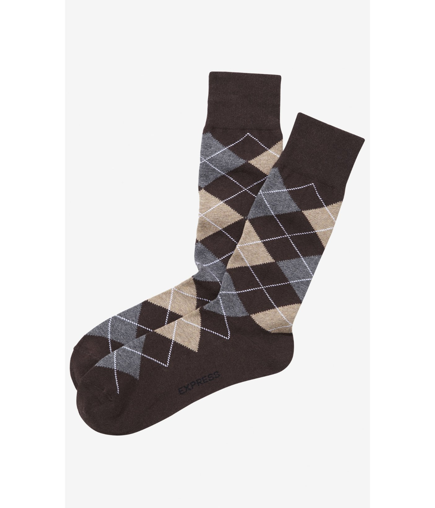These socks are one of the thicker dress socks I've found. The only odd part was that these socks are ALL black. I received the same printed/argyle socks as shown in the picture, but the solid gray socks were solid BLACK.