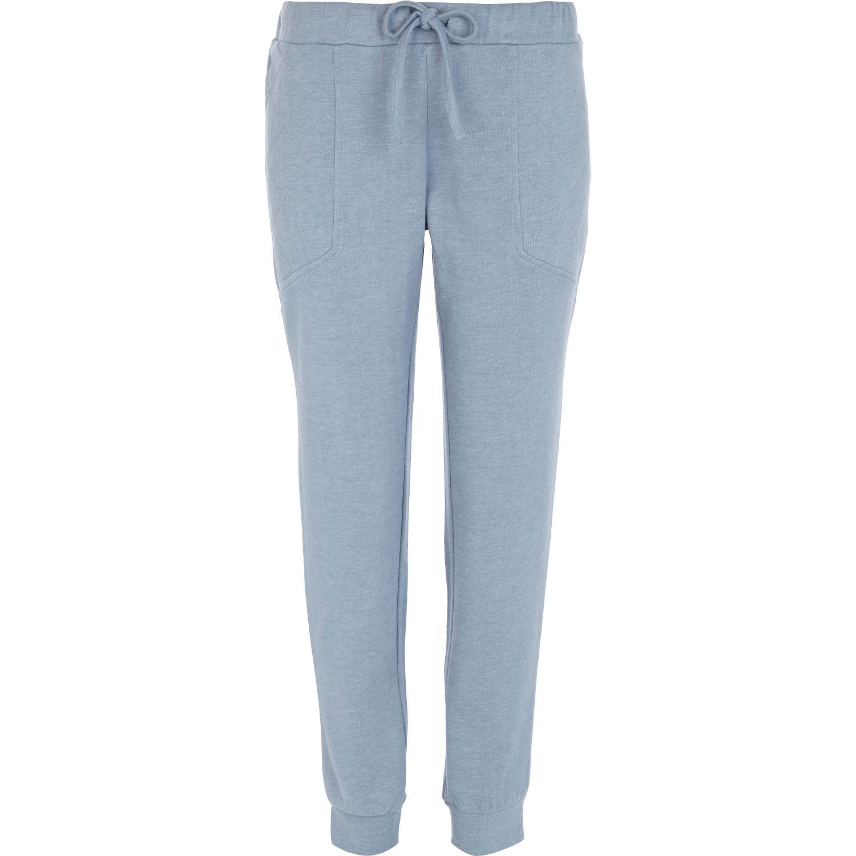New  Light Blue Jogger Pants Drawstring Detail L At Amazon Women39s Jeans