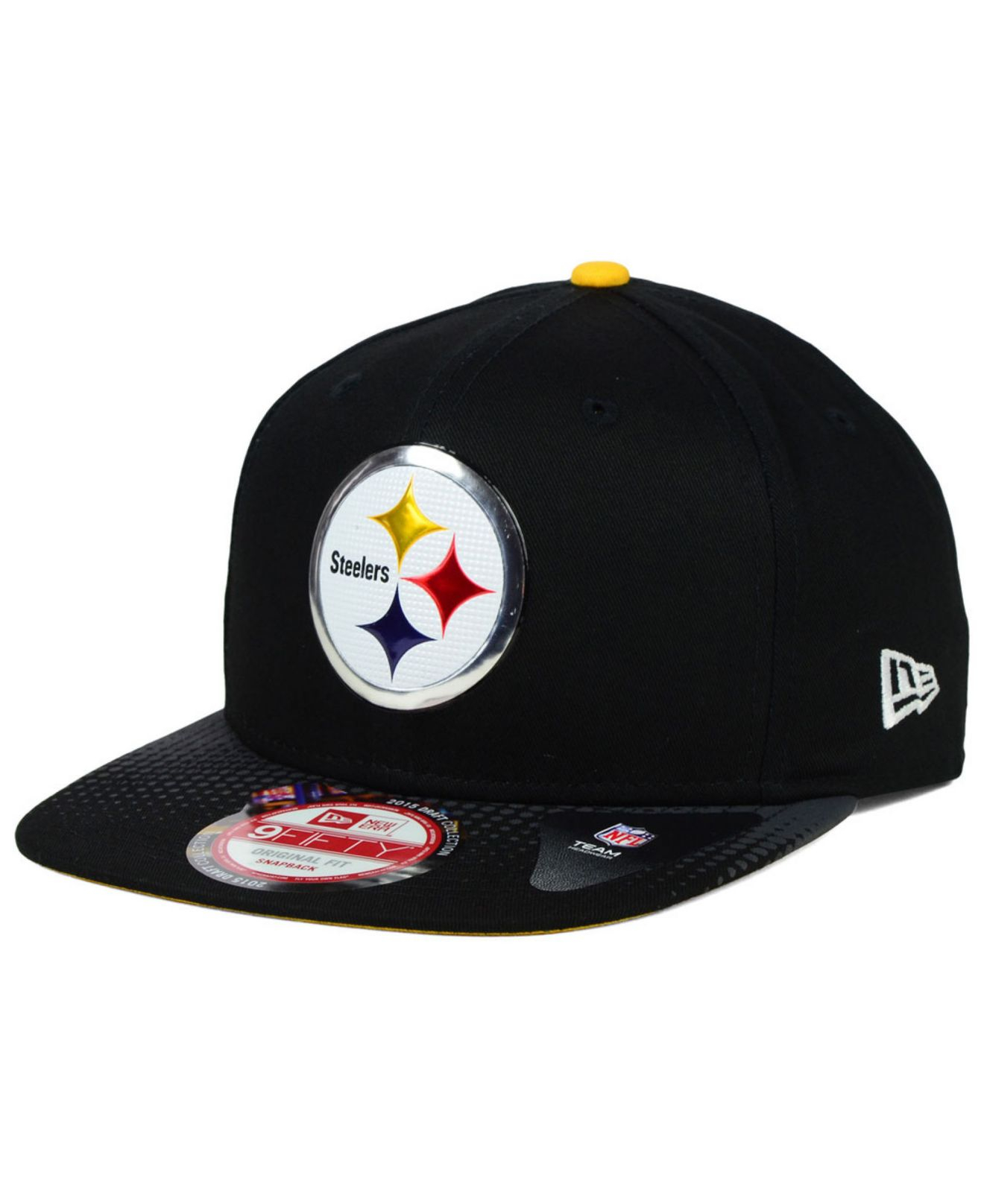 Lyst - Ktz Pittsburgh Steelers 2015 Nfl Draft 9fifty Snapback Cap in ... 616669bc6