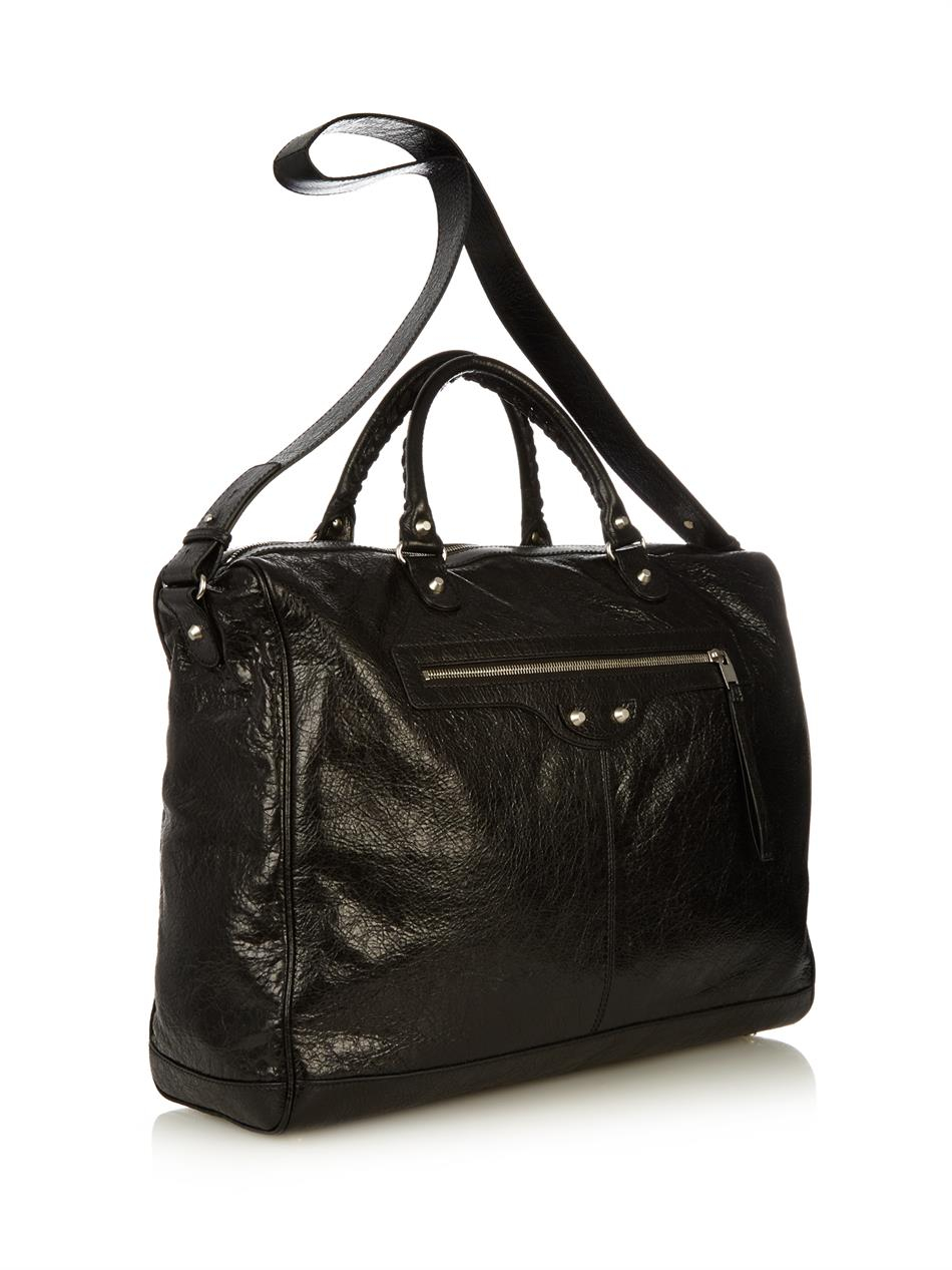 Classic Leather Weekend Bag