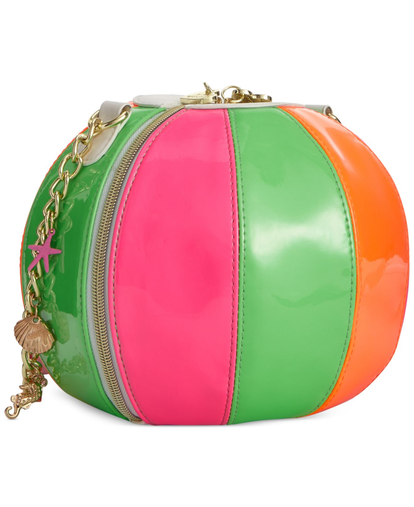 Betsey johnson Macy's Exclusive Beach Ball Shoulder Bag | Lyst