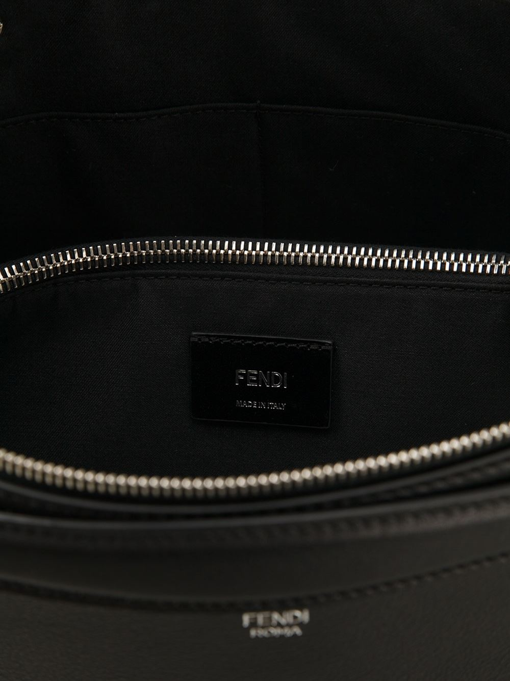 Fendi By The Way Tote in Black