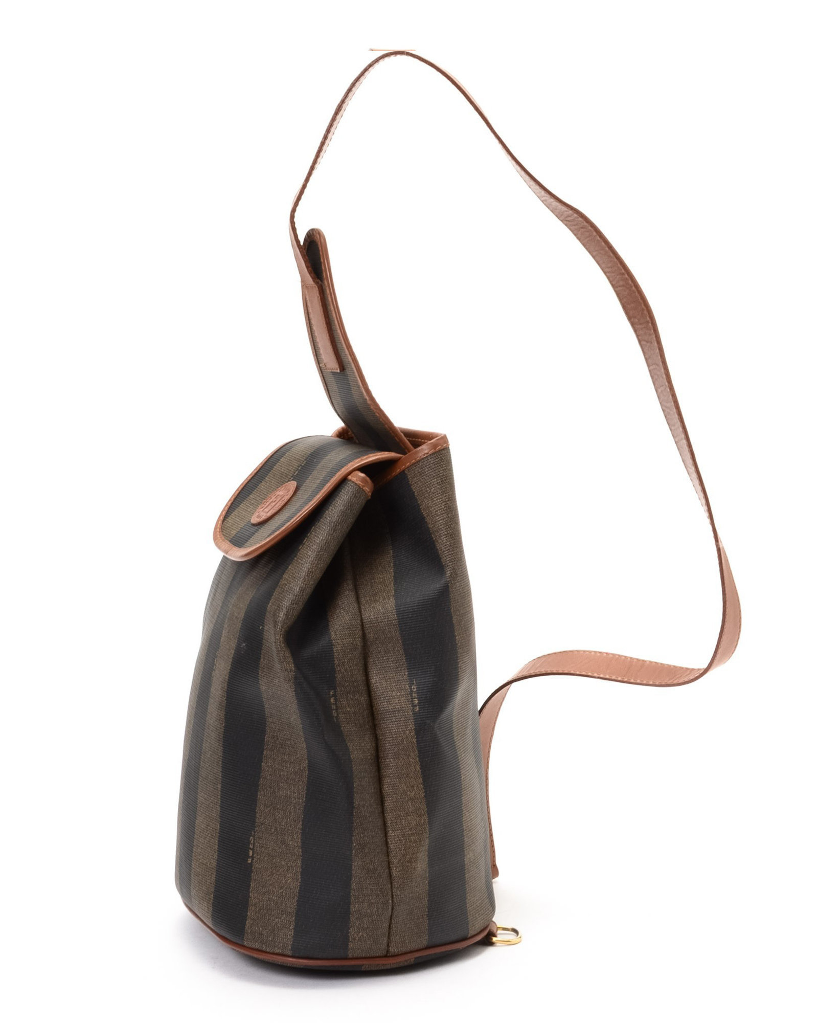 Lyst - Fendi Brown Backpack - Vintage in Black b5014aef5f18e