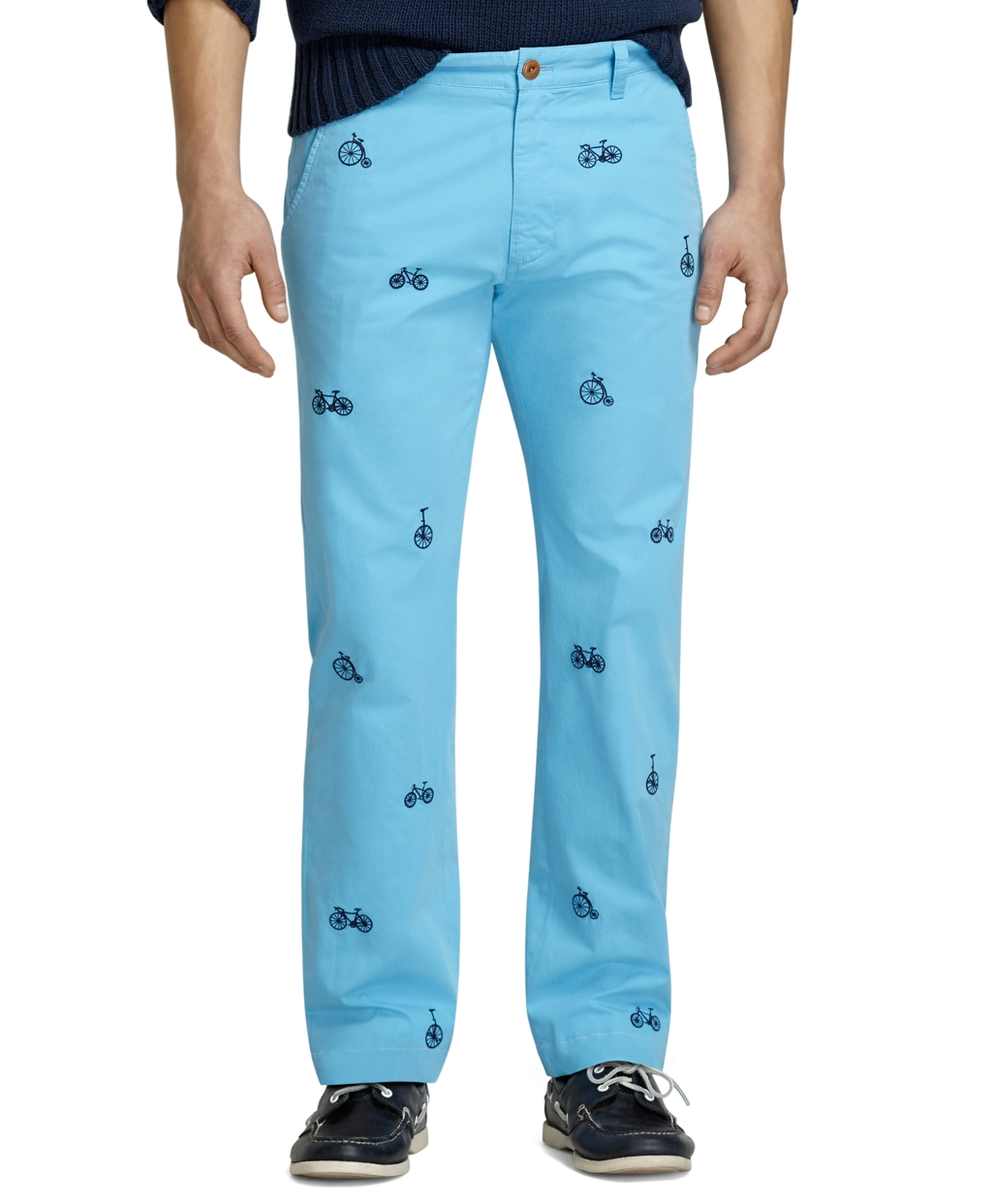 NWT's Brooks Brothers Boys 14 Corduroy Pants Embroidered Winter Holiday  Penguins