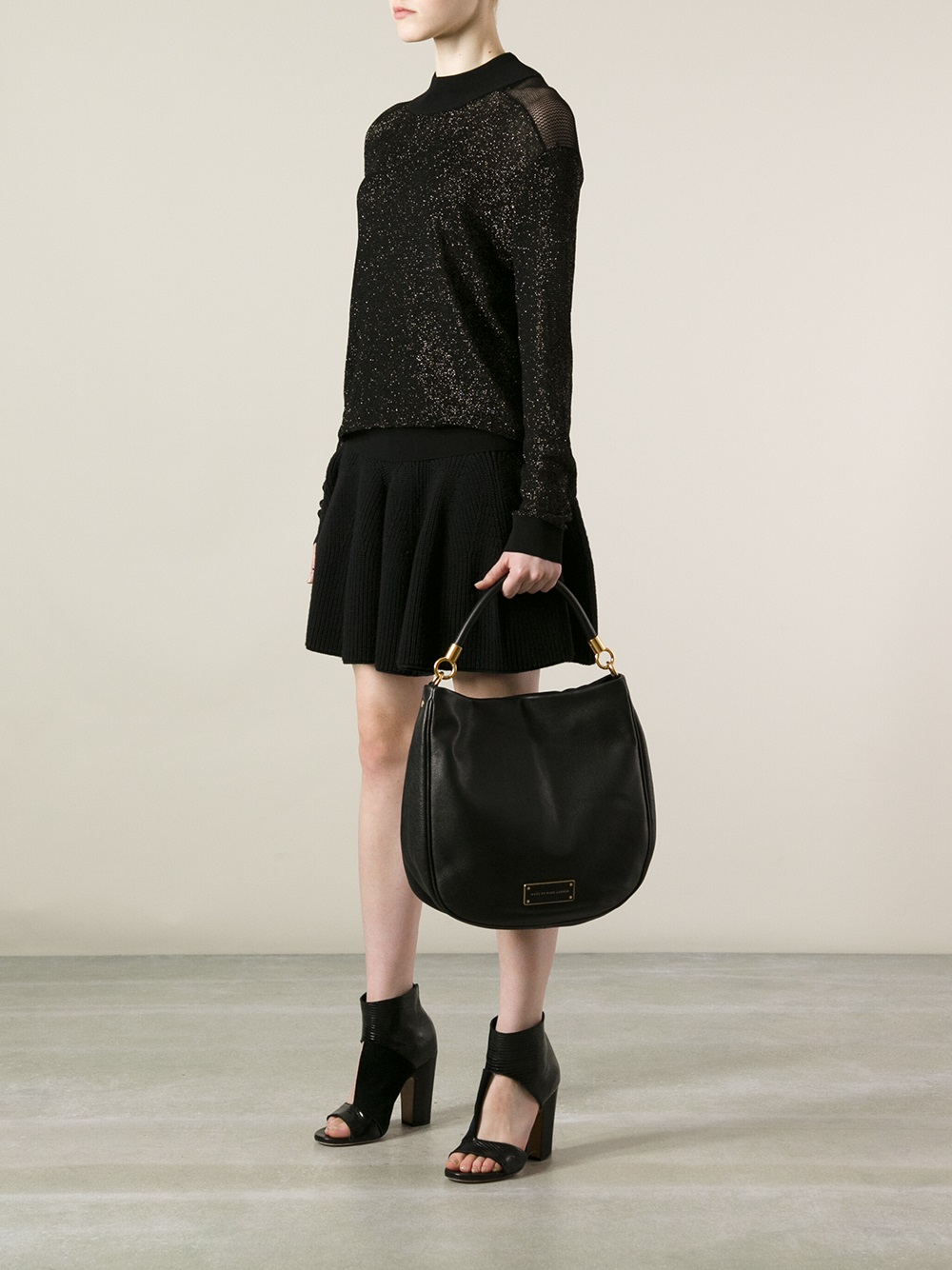 Lyst Marc By Marc Jacobs Too Hot To Handle Hobo Bag In