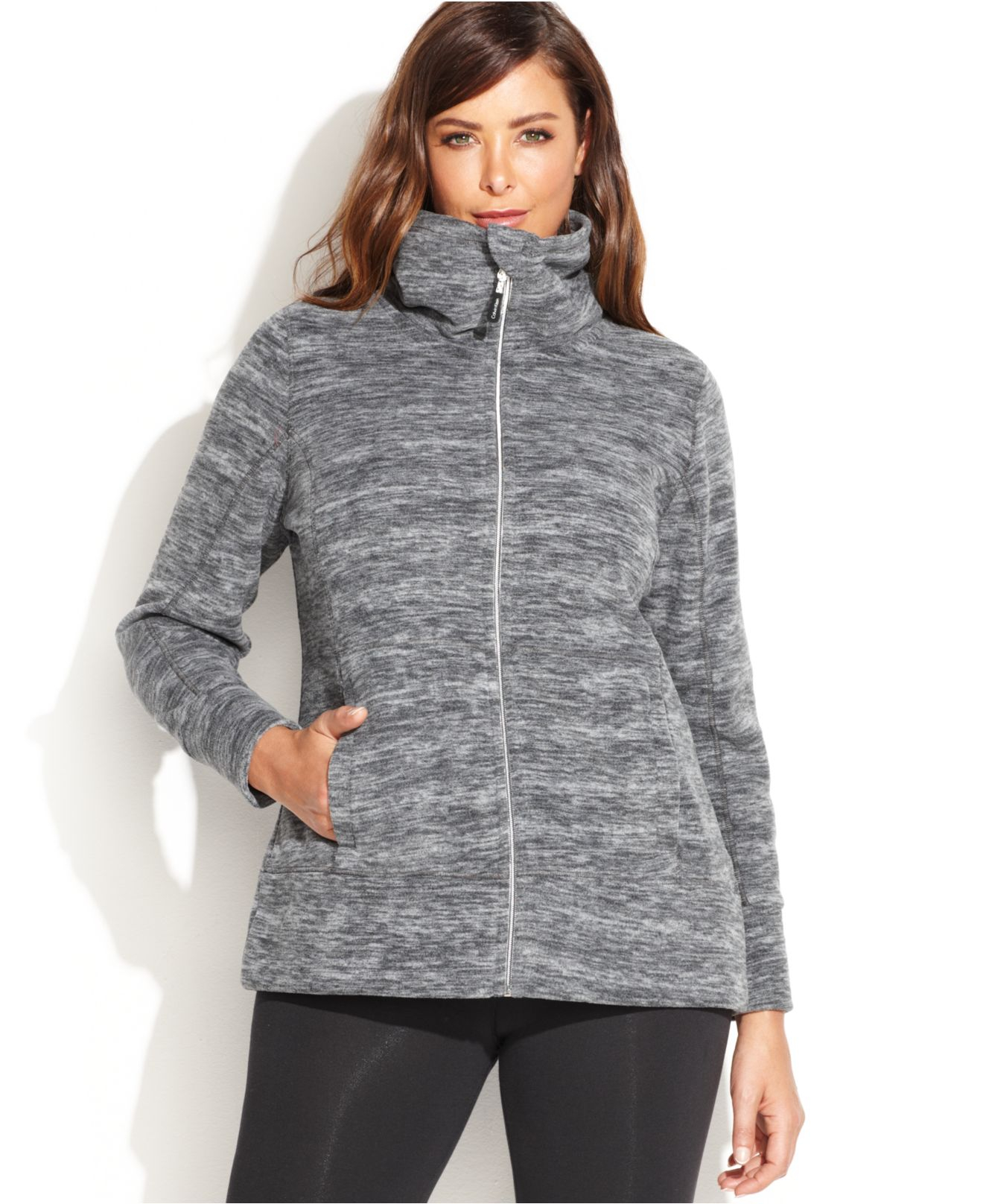 Our plus size printed fleece knit baseball jacket is most loved for its relaxed comfortable fit and unique details. You'll love the pretty wearable colors and easy-to-layer shape. You'll love the pretty wearable colors and easy-to-layer shape.