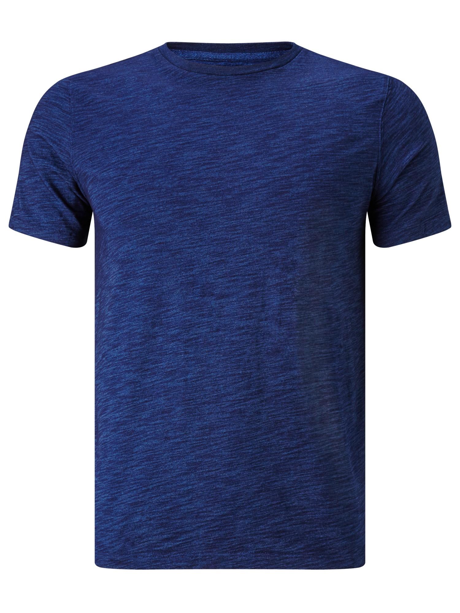 John lewis slub cotton crew neck t shirt in blue for men for What is a slub shirt