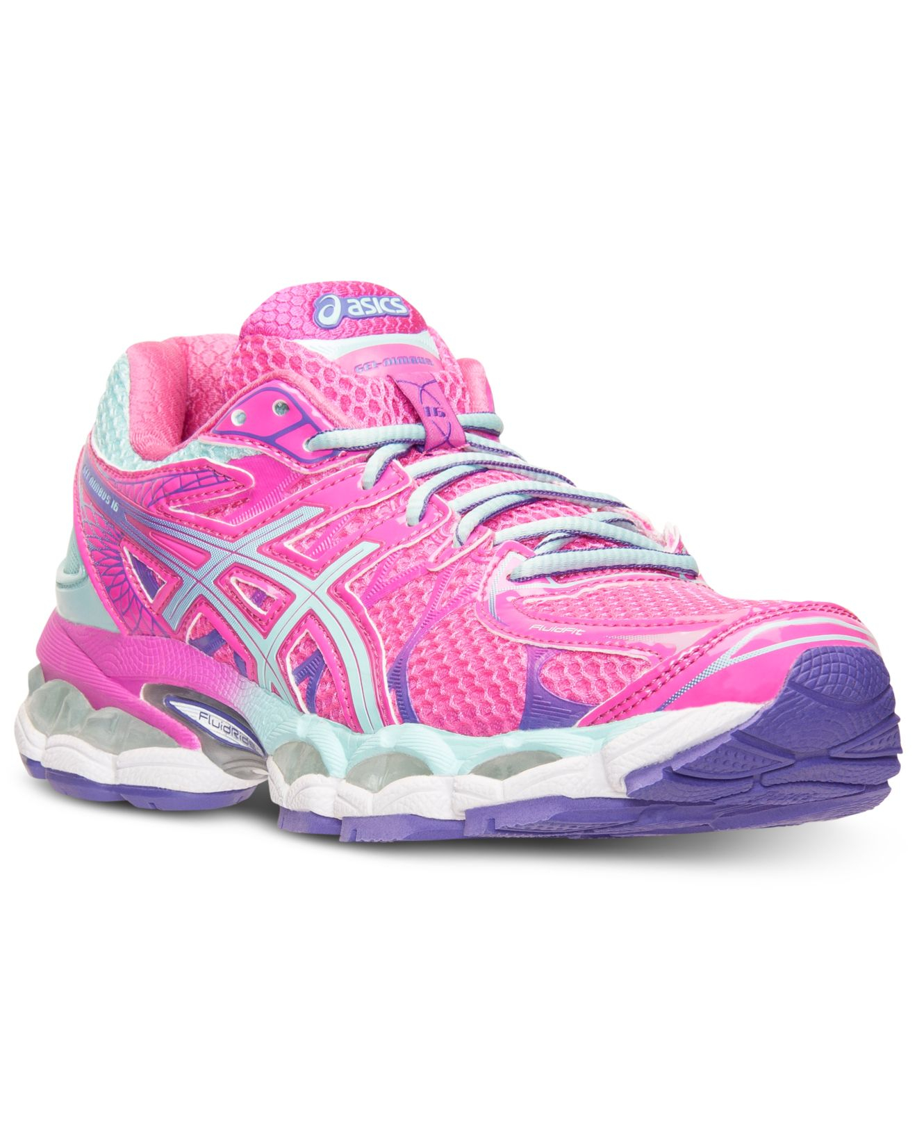 asics hot pink sneakers