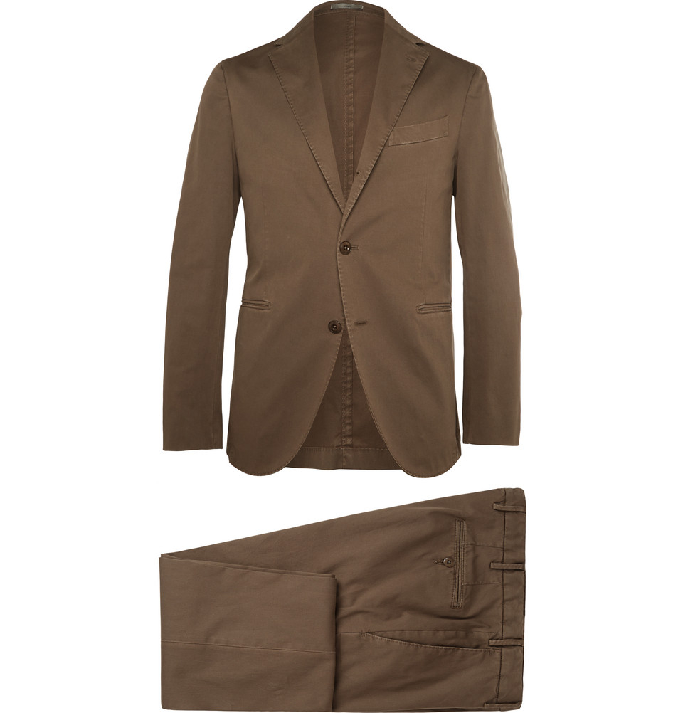 Jun 14, · Cotton and linen are both valid fabrics for suits and hardly subject to fashion. Whilst cotton certainly tends to look less casual, I do prefer linen. I find that cotton fabrics are very hard to retain whilst linen will still look good even when you have worn the garment a couple of years.