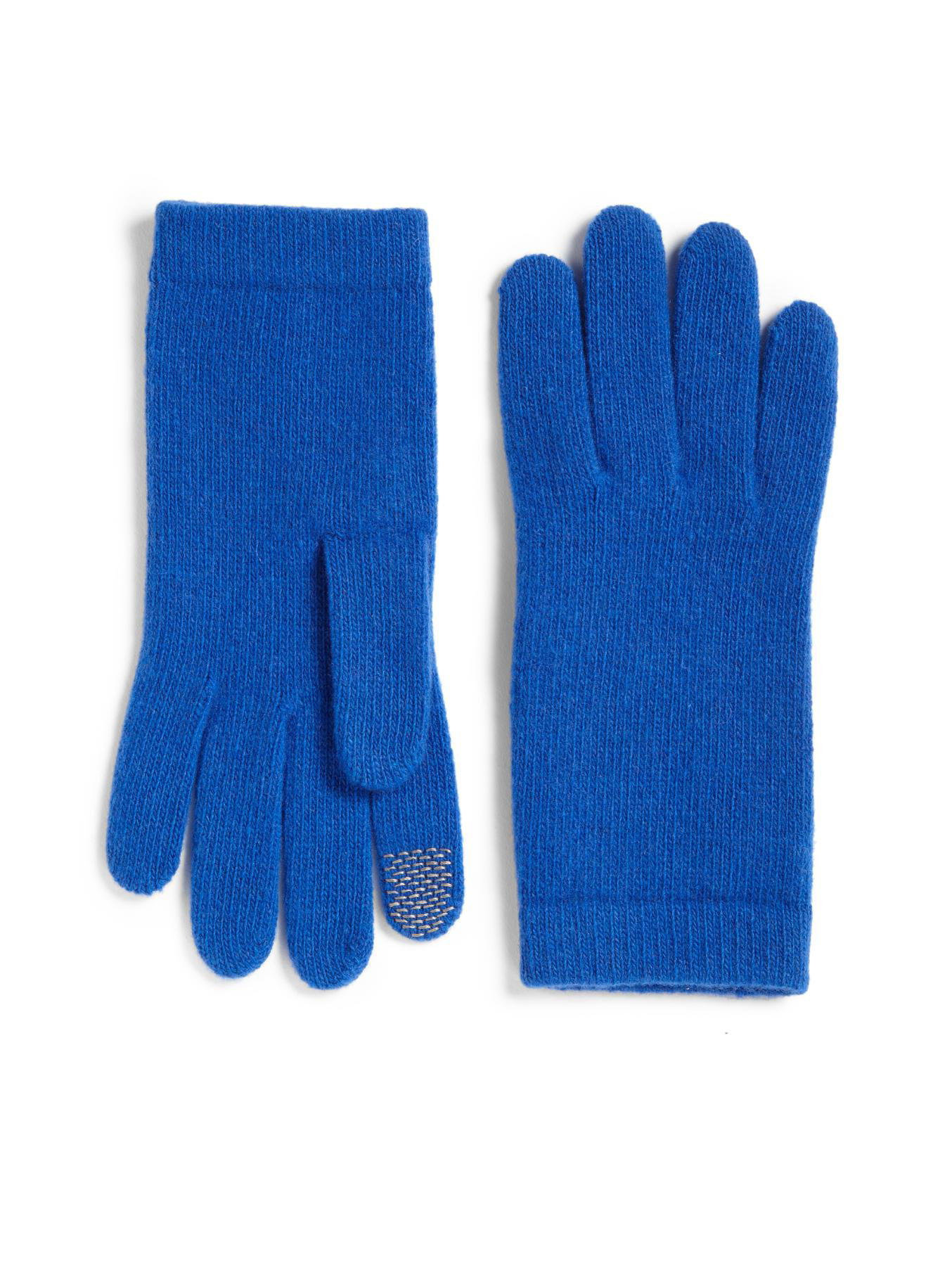 Knitting Pattern Texting Gloves : Portolano Knit Texting Gloves in Blue for Men Lyst