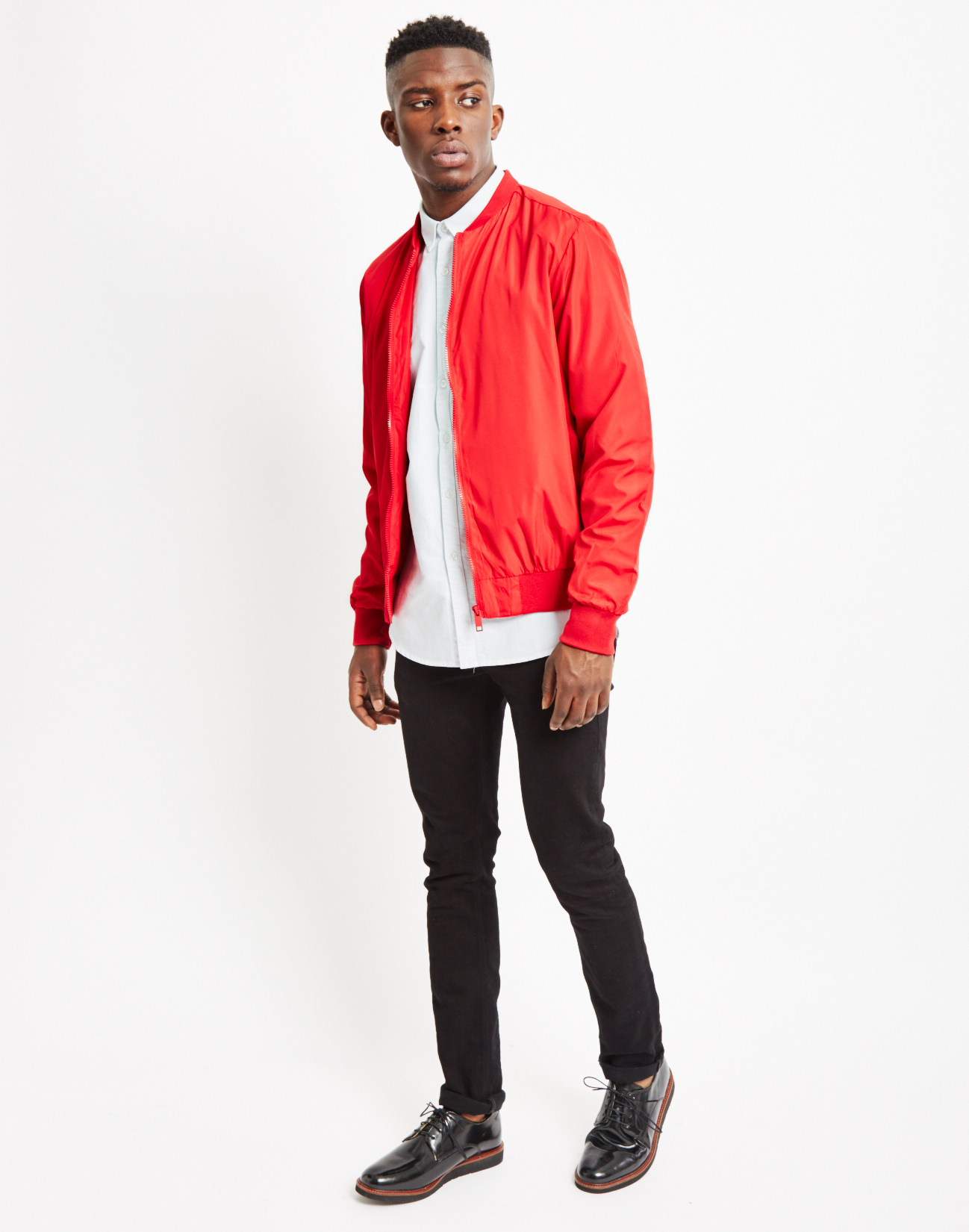 Red Bomber Jacket | Outdoor Jacket