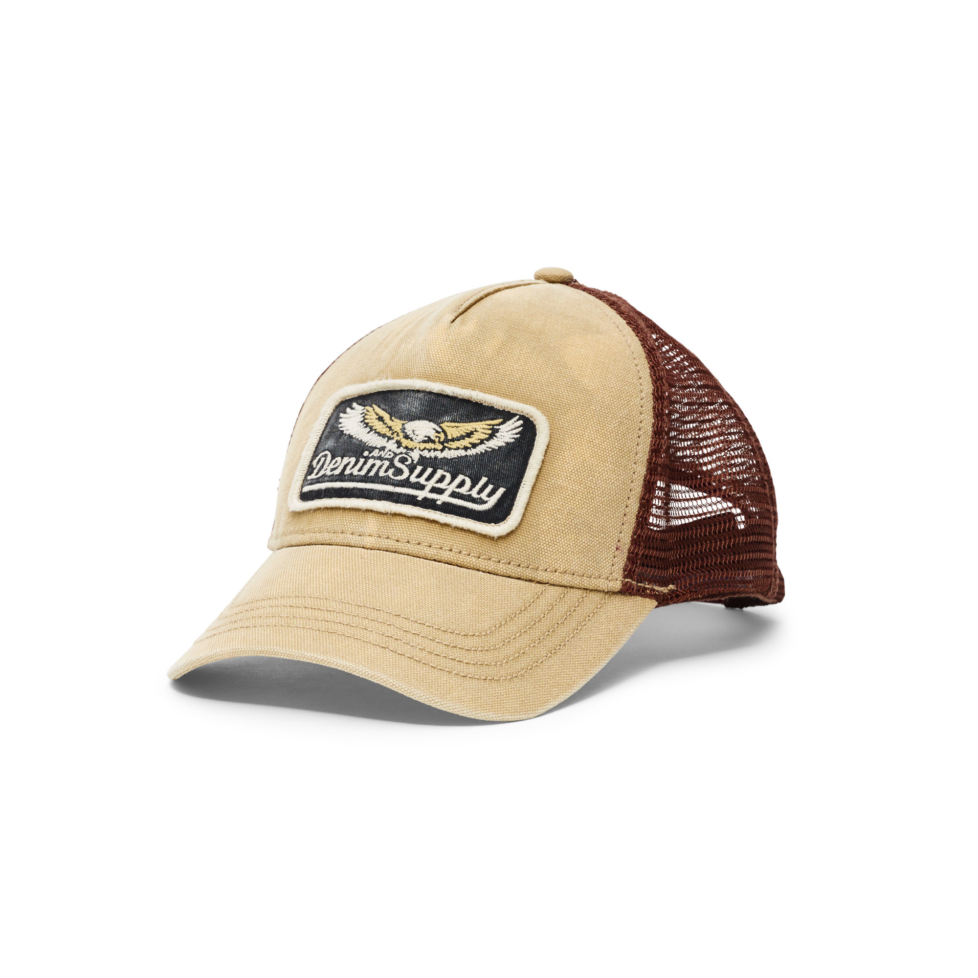 b05a17fb26b Denim   Supply Ralph Lauren Canvas Trucker Hat in Brown for Men - Lyst