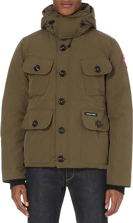 1c214e881 Canada Goose Selkirk Shell Parka in Green for Men - Lyst