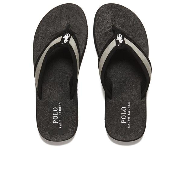 8841813bfe2d4d Polo Ralph Lauren Men s Almer Ii -ne Flip Flops in Black for Men - Lyst