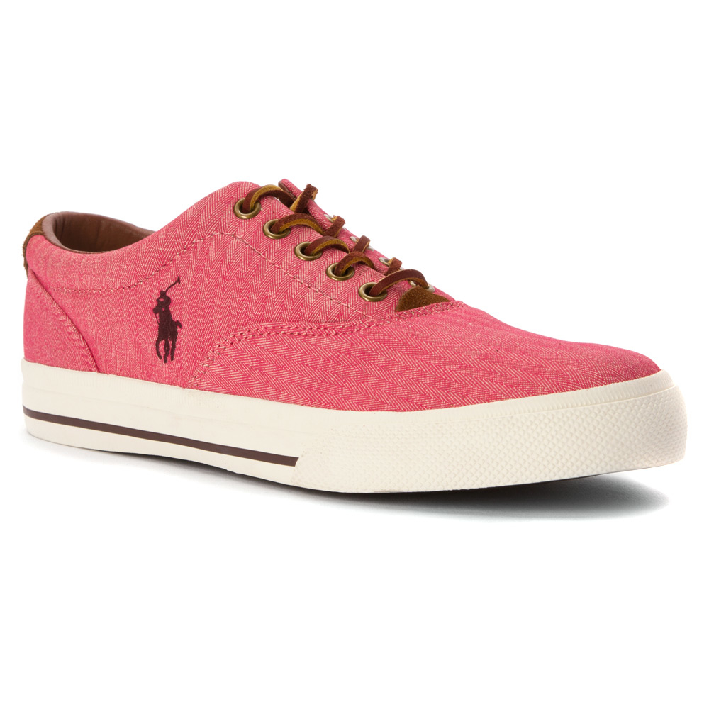 polo ralph vaughn in pink for lyst