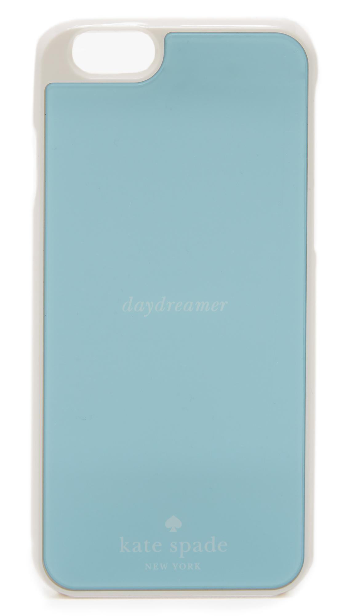 timeless design dd34e fbbf6 kate spade new york White Daydreamer Mirror Iphone 6 / 6s Case