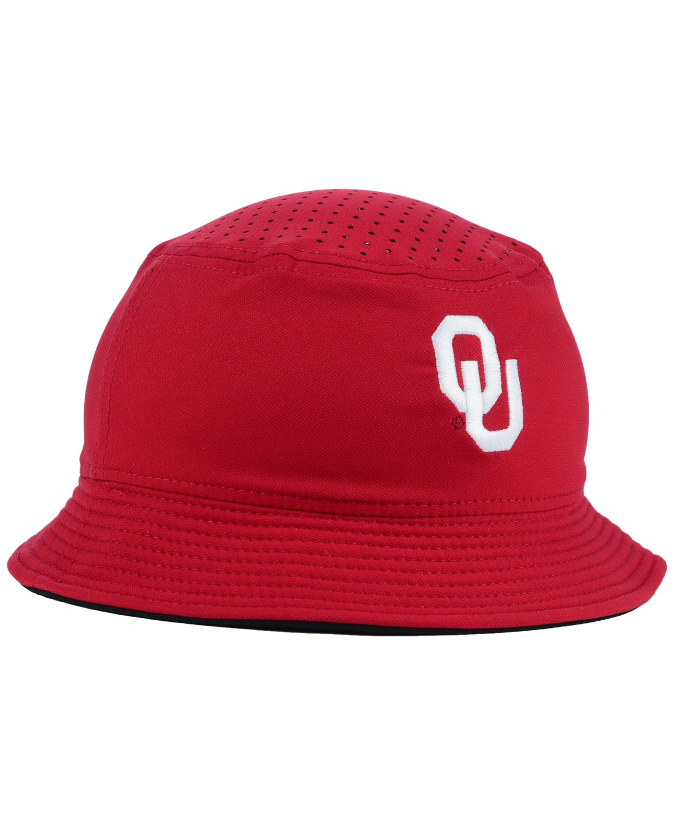 detailed look 37b15 fbde1 ... cheapest lyst nike oklahoma sooners vapor bucket hat in purple for men  7ce4e 7f08b