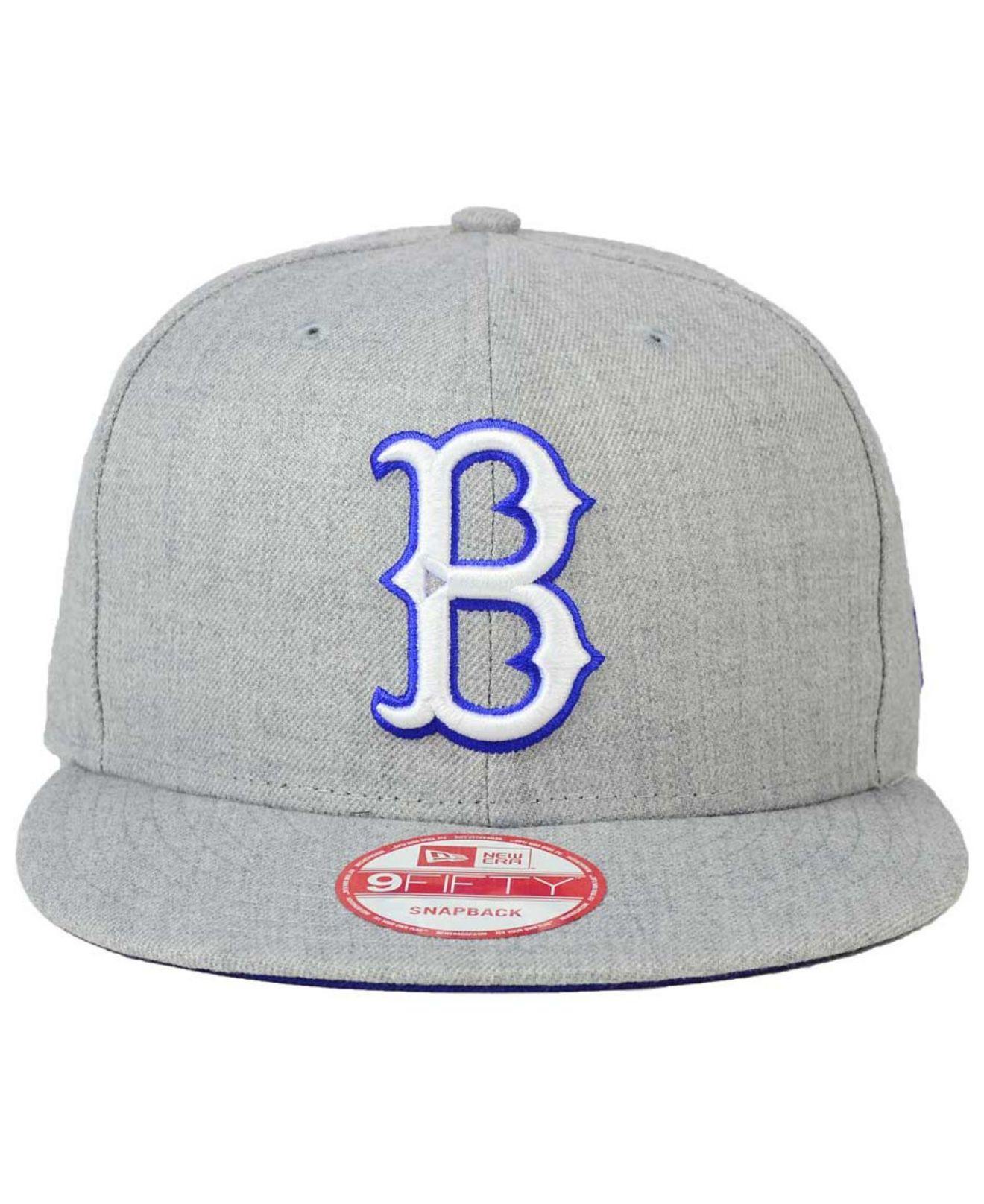 c62cc4a061e48 KTZ Brooklyn Dodgers Heather Team Color 9fifty Cap in Gray for Men ...