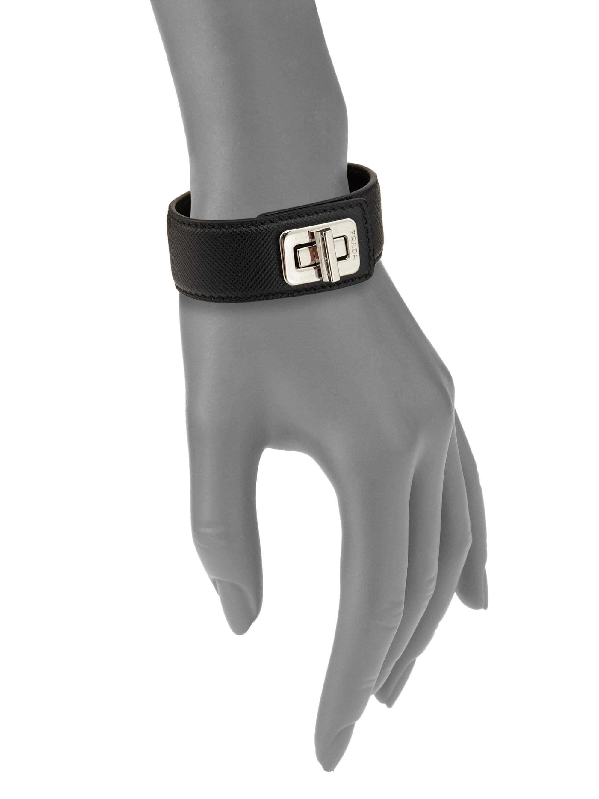 Prada mens leather gloves - Gallery