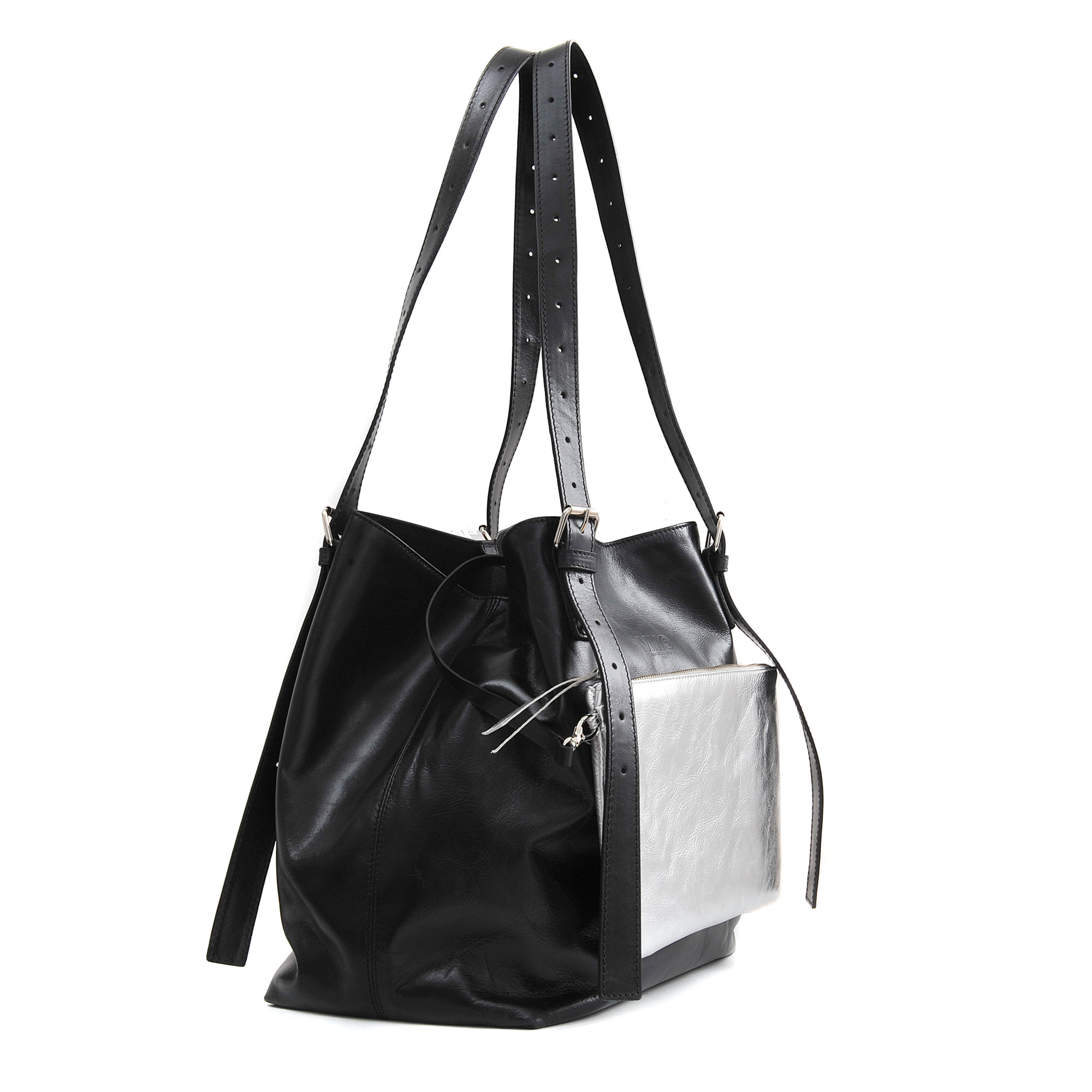 Mm6 by maison martin margiela sailor tote bag in black lyst for Mm6 maison margiela