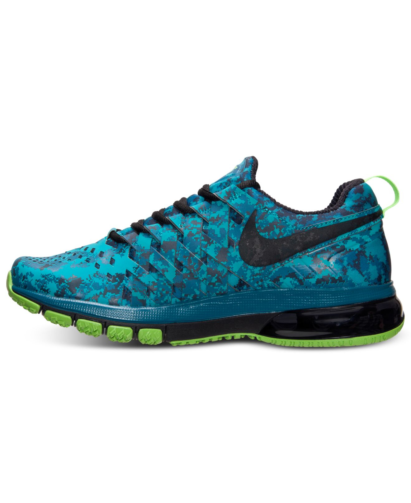 nike men 39 s fingertrap air max training sneakers from. Black Bedroom Furniture Sets. Home Design Ideas
