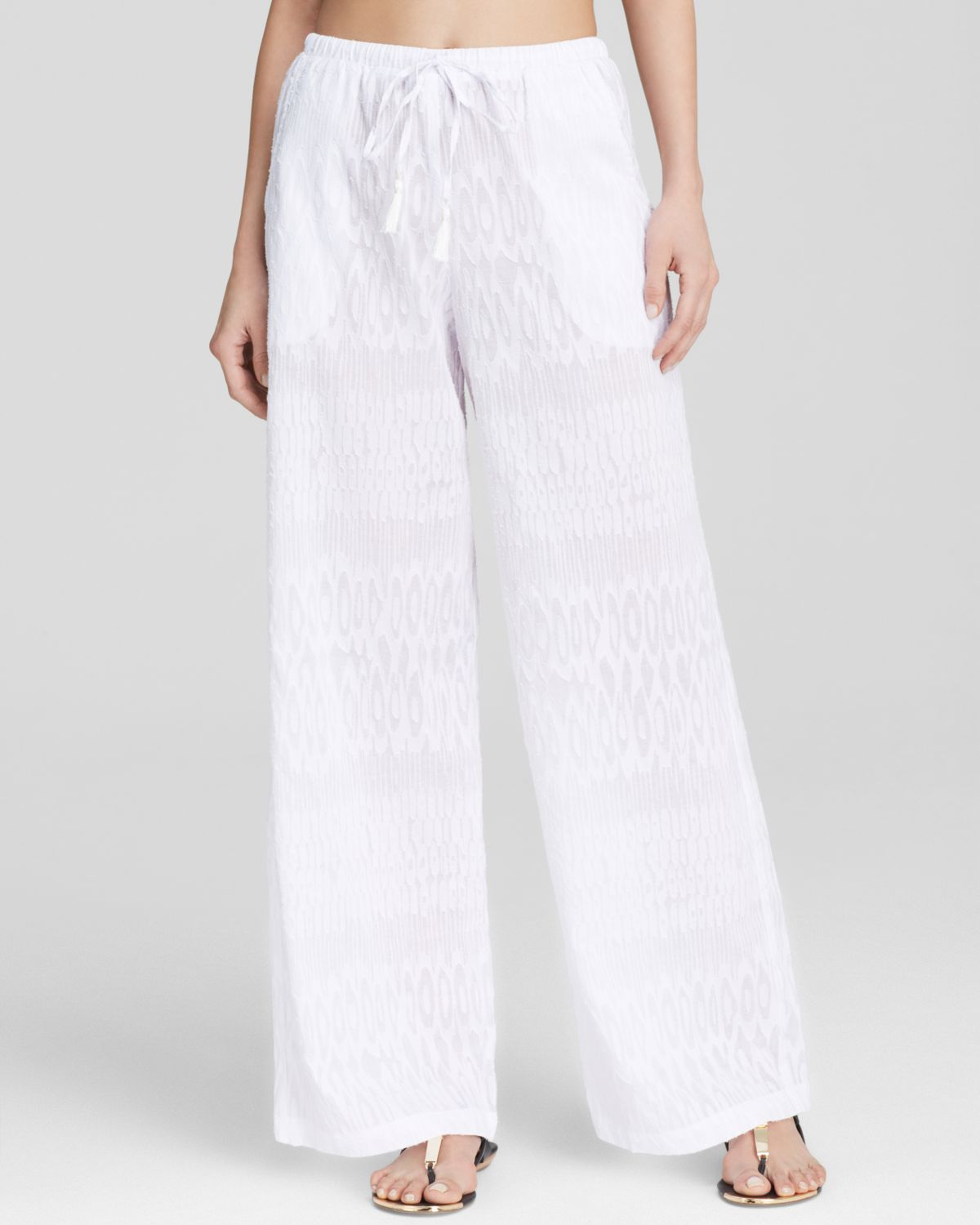 f60282836950a Tommy Bahama Beach Cover Up Pants in White - Lyst